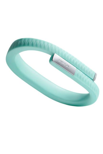 The Silent Motivator--This comfortable, low-profile bracelet (available in eight hues including onyx, orange, and navy) is meant to be worn 24/7 to log your every waking—and sleeping—move. To read your results, count calories, or log workouts, plug it right into your iPhone or Android. And trust the vibrating alarm function to gently wake you at the lightest point in your sleep cycle.