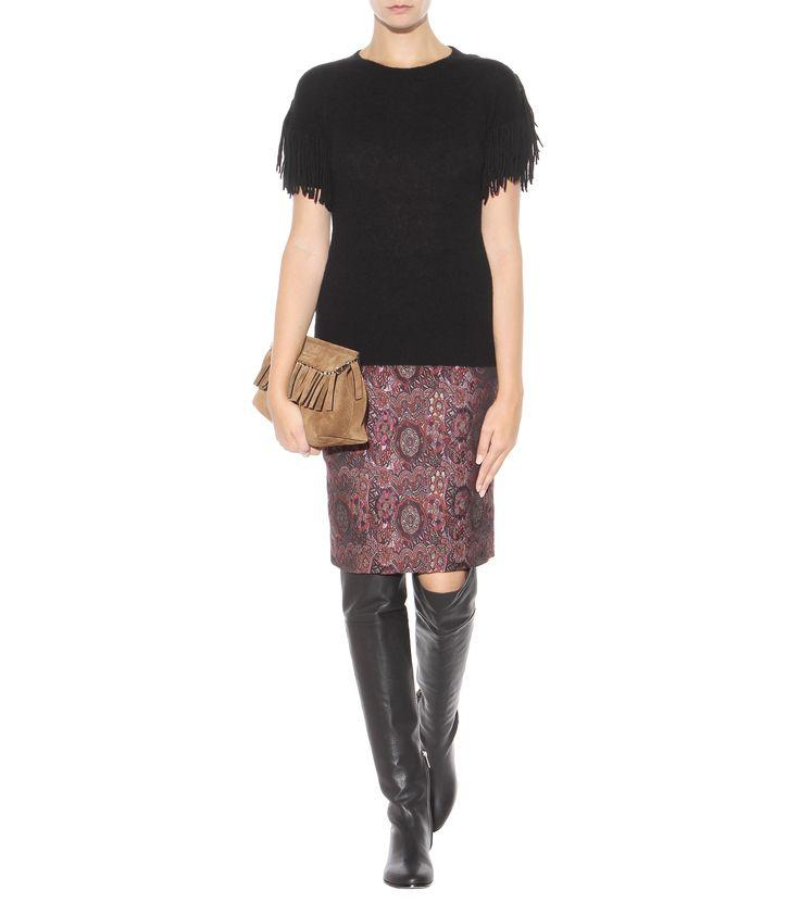 mytheresa.com - Overknee-Stiefel Mitty Aus Leder - Jimmy Choo ☼ mytheresa.com - Luxury Fashion for Women / Designer clothing, shoes, bags