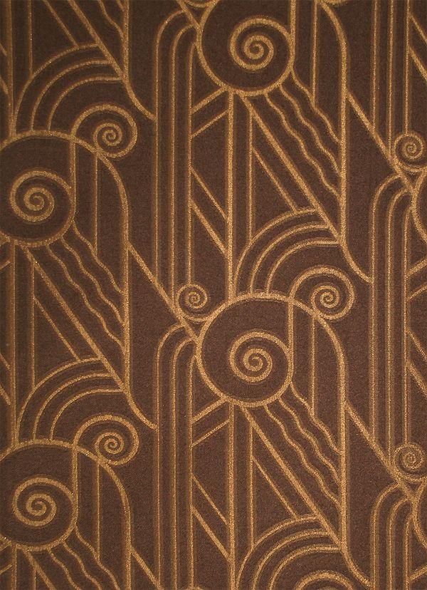 Bradbury Art Deco Fabric for Upholstery and Drapery | Volute