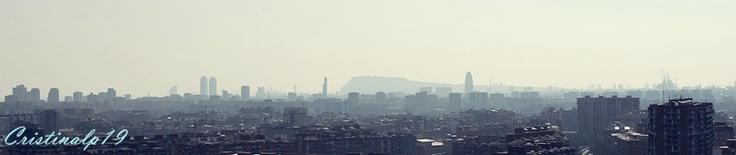 Skyline Barcelona #Spain #Espana #Cielo