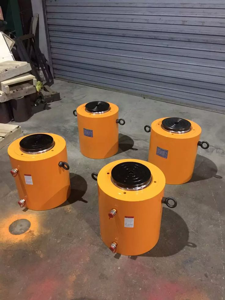 4pcs 500ton Cylinder for Piling Test
