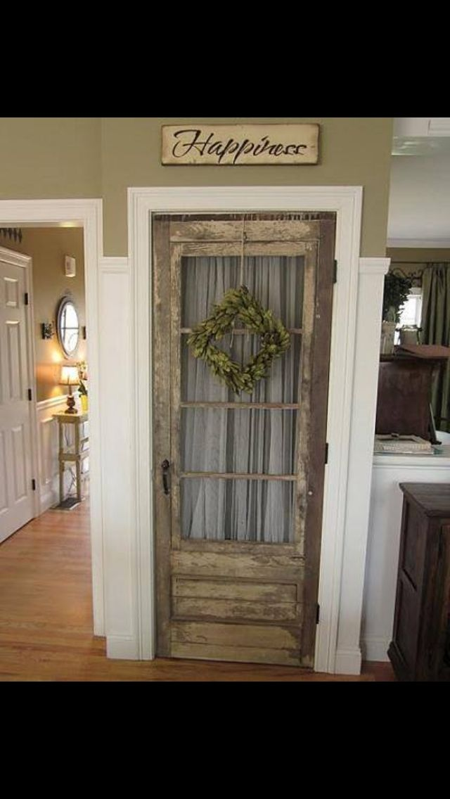 Adorable for an entry hall closet