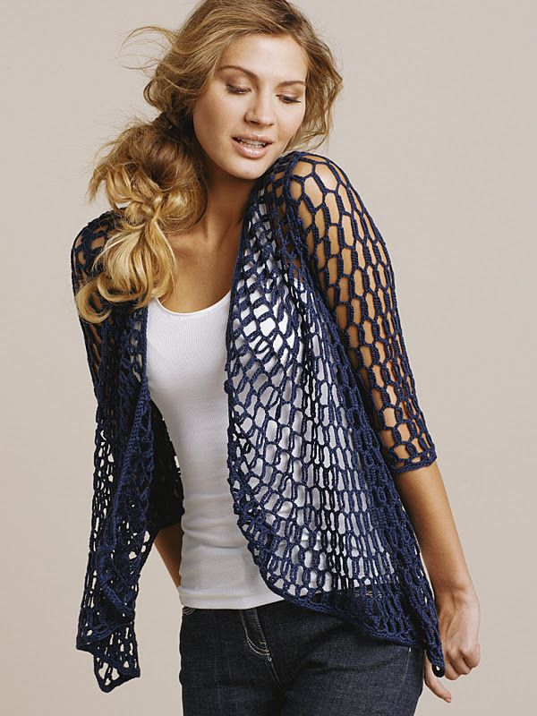 Outstanding Crochet: Unknown brand. Circle crochet top. Pattern.