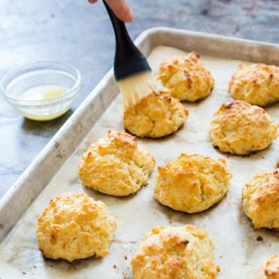 Best Drop Biscuits vy America's Test Kitchen -- We wanted a drop biscuit recipe that would offer a no-nonsense alternative to traditional rolled biscuits, with the same tenderness and buttery flavor.