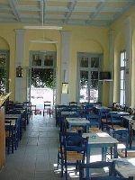 Cafe in Plomari