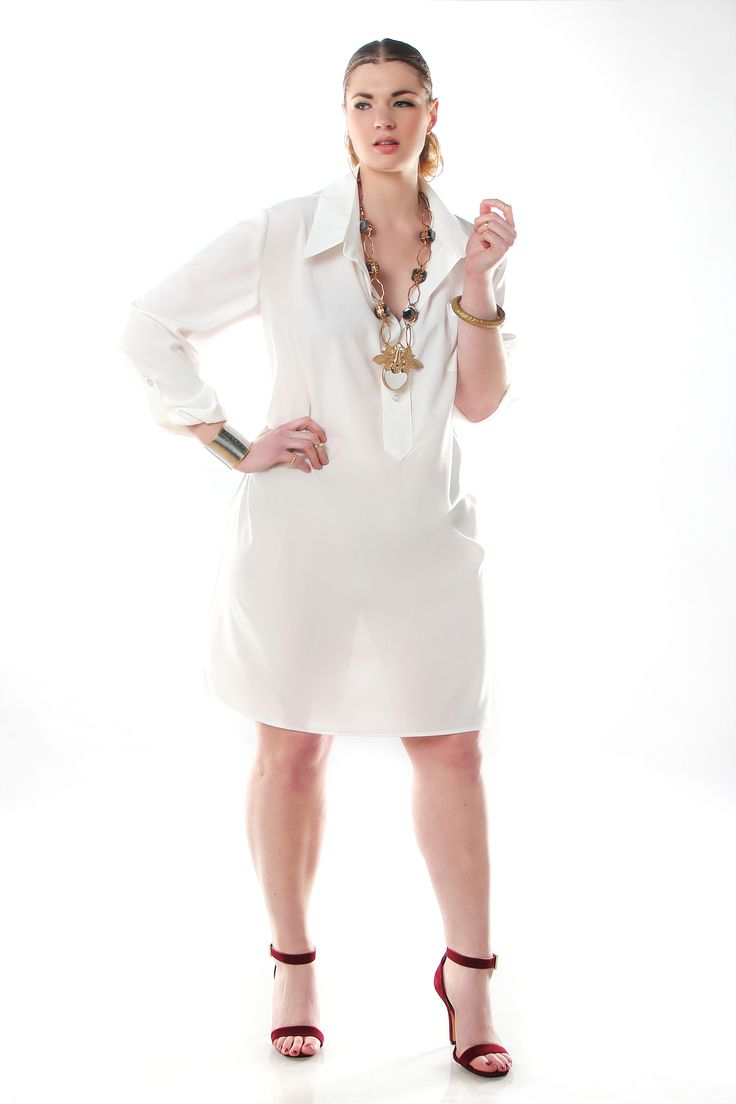 Plus size shirt dress - Can I get it in black?