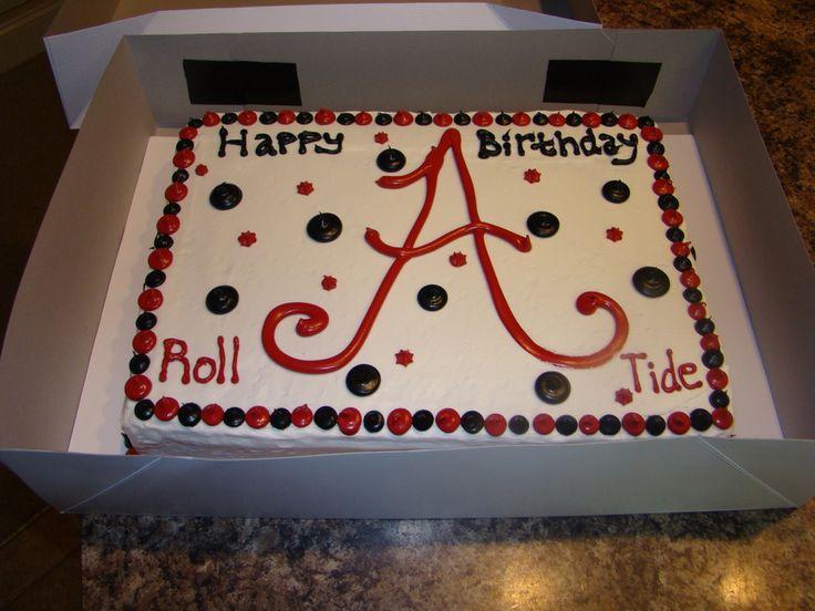 Photos Of Alabama Football Birthday Alabama Birthday Cake
