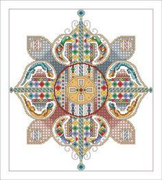 Celtic Flower - Cross Stitch Pattern