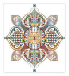 Celtic Flower - Cross Stitch Pattern