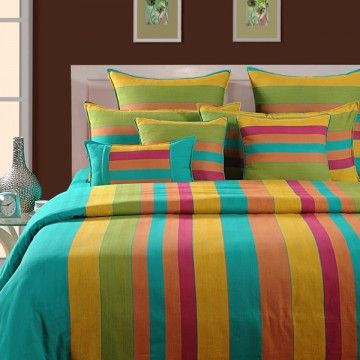Lime n Lemony Fitted Bed Sheet- Magical Linea-1512