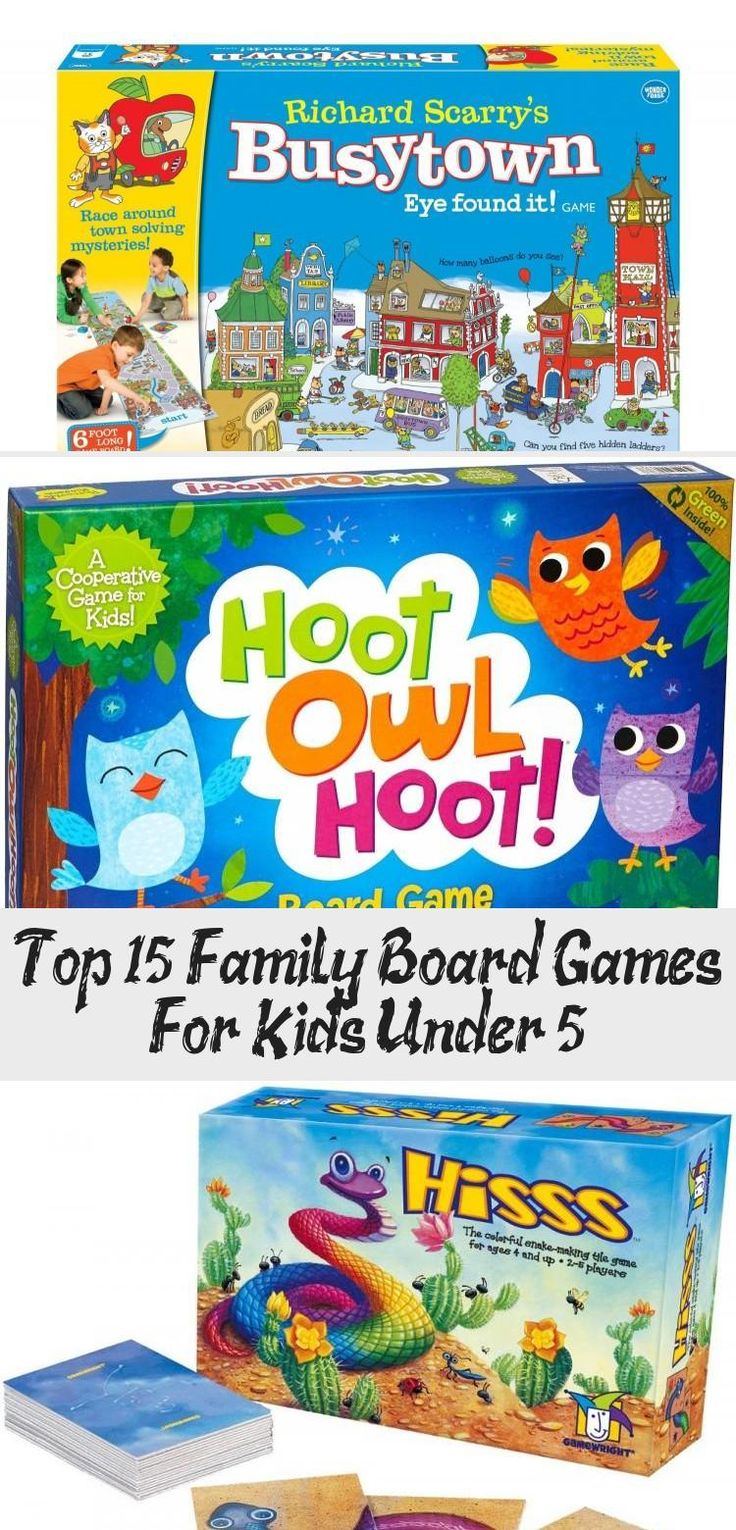 Top 15 Family Board Games For Kids Under 5 in 2020 (With