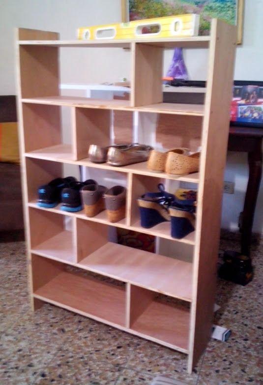 M s de 25 ideas incre bles sobre estantes para zapatos en - Zapateros baratos ikea ...