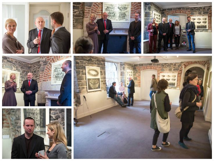 """Great opening of Marcin Bialas Exhibition """"Above the Pavement"""" on April 24th.The exhibition is running until May 12th in CFCP."""