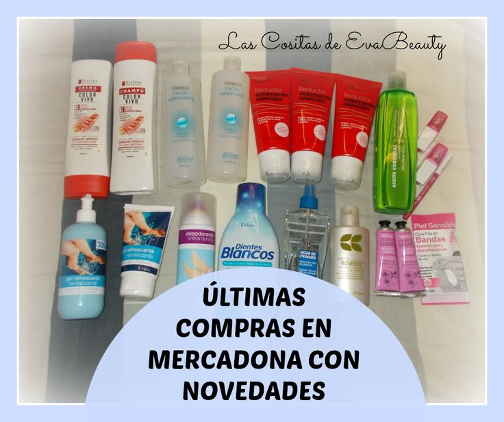 Últimas #compras en #Mercadona #Deliplus  #lascositasdeevabeauty #blogger #beautyblogger #blogs #blog #beautyblog #maquillaje #makeup #belleza #beauty #facial #corporal #aceiteromero #manos #cabello #pies #piernas #swatches #labial #reductor