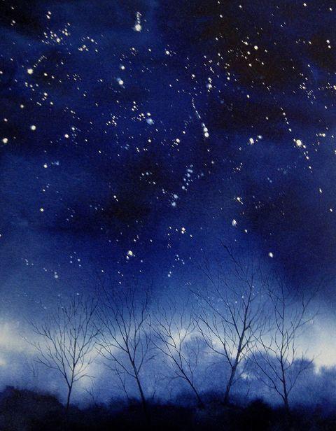 Starry Starry Night I by Megan Richard
