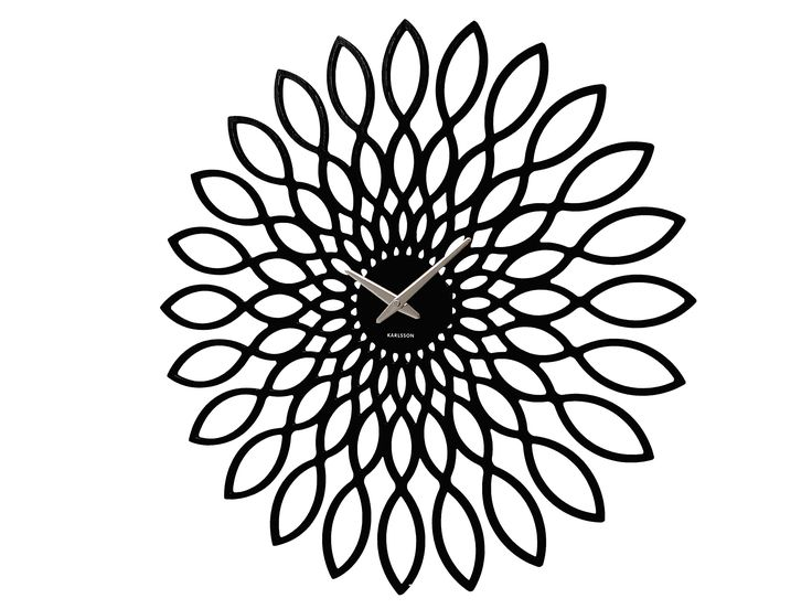Floral Wall Clock from IDdesign