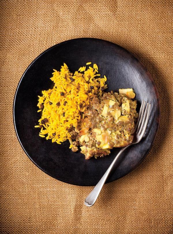 Recette de Ricardo de riz jaune