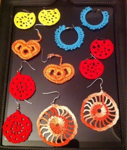 Con estas manazas: Surtido variado #crochet #ganchillo