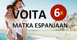 Voita matka Espanjaan! Kuusi upeaa matkapalkintoa: http://www.rantapallo.fi/espanjan-rantakohteet/