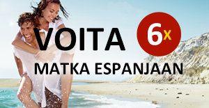 Voita matkoja Espanjaan! #espanja #spain http://www.rantapallo.fi/espanjan-rantakohteet/