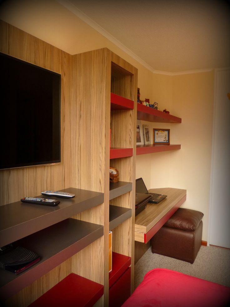 Mejores 13 im genes de mueble tv y escritorio para for Mueble tv dormitorio