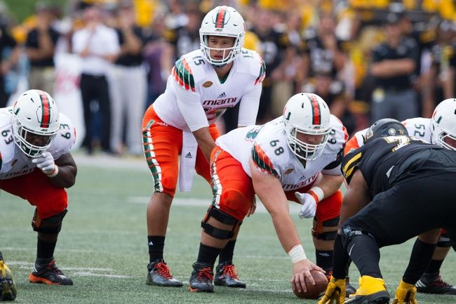 Miami-FL Hurricanes at Georgia Tech Yellow Jackets - 10/1/16 College Football Pick, Odds, and Prediction