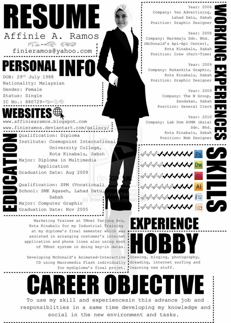 The 25+ best Cv template student ideas on Pinterest Cover letter - interactive resume template