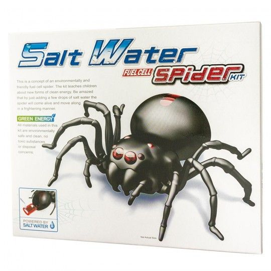 Salt Water Robotic Spider Kit | Australian Geographic Shop Online