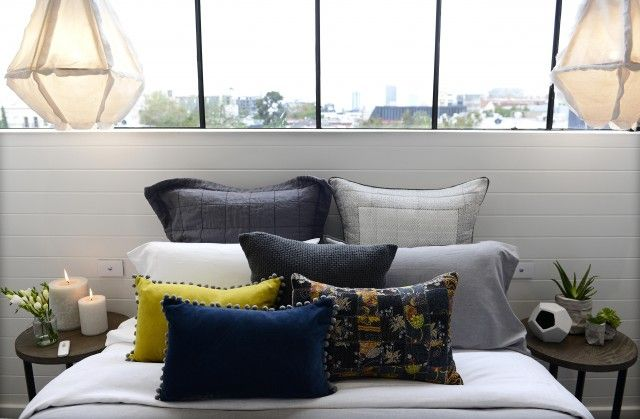 Get the look: last night's first Block Glasshouse guest bedroom reveals (Darren and Deanne)