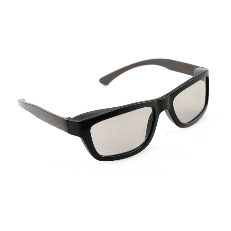 Light Weight Passive Polarized 3D Glasses for LG / Toshiba / Vizio Passive FPR 3D TVs and RealD 3D Cinema System