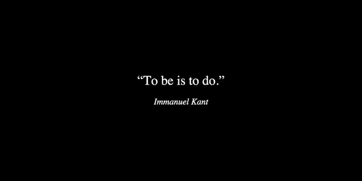 by Immanuel Kant
