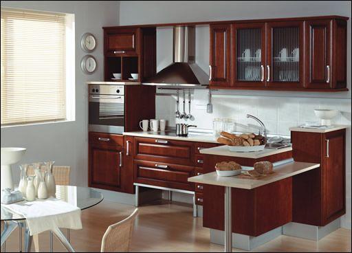 M s de 1000 ideas sobre cocina de cerezo en pinterest - Cocinas color nogal ...