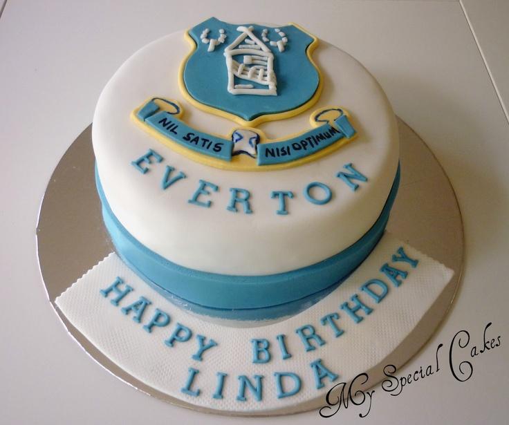 everton cake team cakes football team cake ideas forward everton cake ...