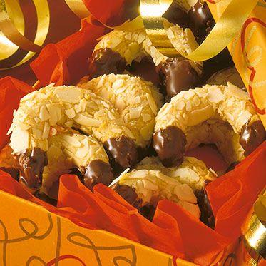 Marzipan-Kipferl #Weihnachten #Rezept #lecker