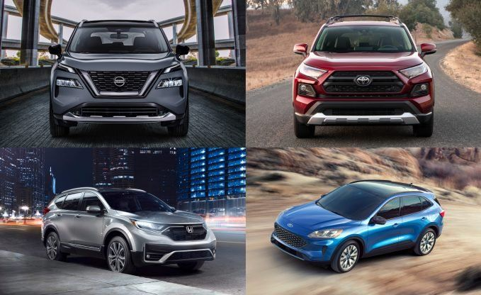 Nissan Rogue Vs Honda Cr V Vs Toyota Rav4 Vs Ford Escape How Does It Stack Up Autoguide Com In 2020 Nissan Rogue Honda Cr Nissan