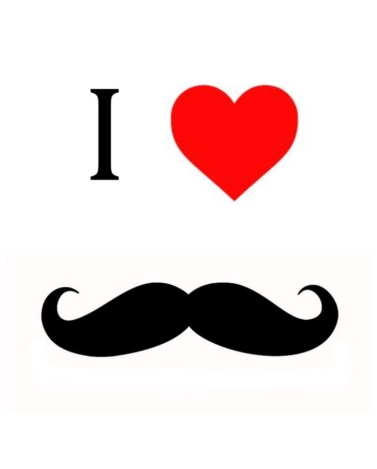 Cool Mustache Printables