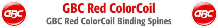 MyBinding.com is your source for Red Spiral Coil Binding Supplies. Also known as spiral coil, colorcoil, color coil, ez coil or just coil binding supplies, our Red 4:1 Pitch Red ColorCoil Spirals are made of the highest quality acid free, food quality PVC on the market. These Red spiral coil binding supplies are designed for use with all of the 4:1 pitch coil binding machines on the market including coil binding machines from GBC Ibico, Renz, Akiles, Tamerica and Rhin-O-Tuff.