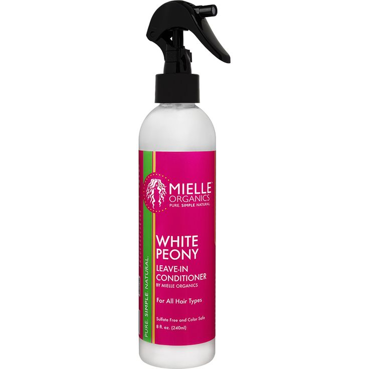 Mielle Organics White Peony Leave-In Conditioner (8 oz.) - NaturallyCurly
