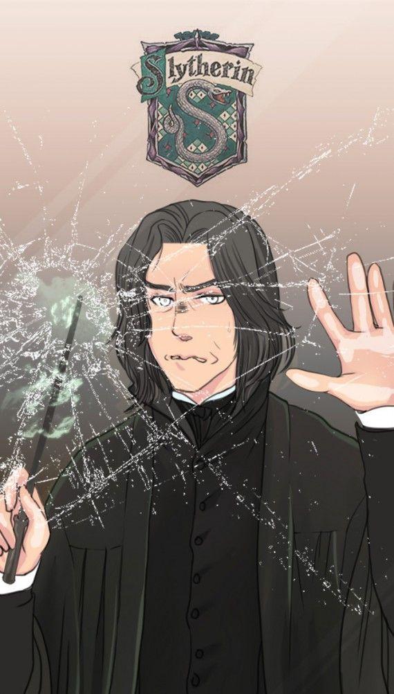 Harry Potter : les plus beaux fan arts du Professeur Rogue - Artiste inconnu