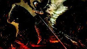 Блеснула молния вдали -  на черном Небе снова битва.  Дым поднимается с Земли  и чья-то светлая молитва .   Нагнали Ангелы ветра ,  ма...