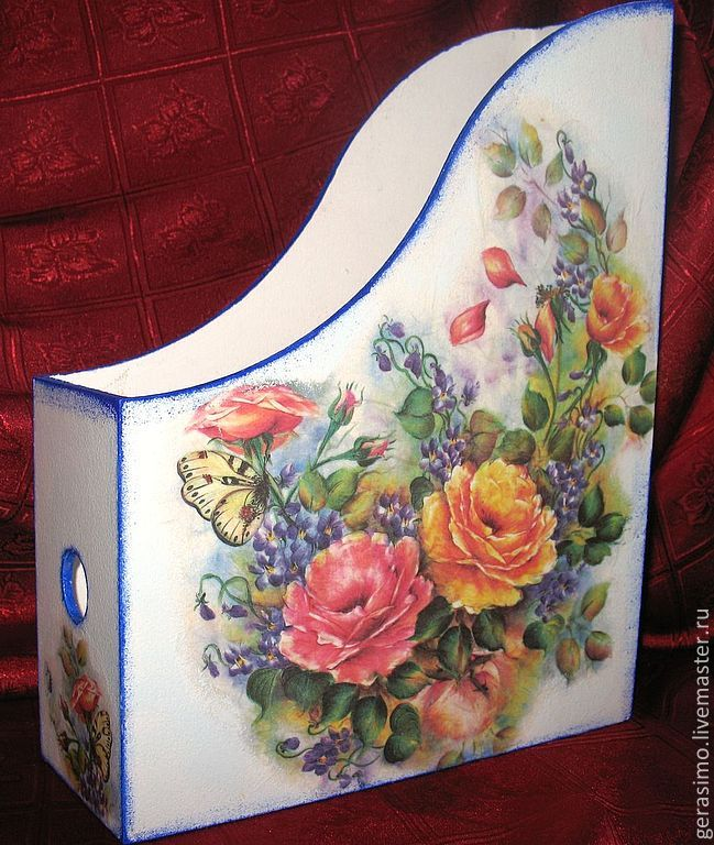 Russian decoupage