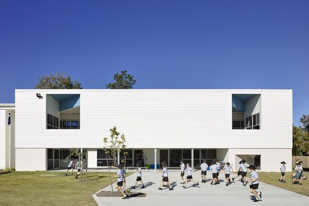 St Ambrose Primary School by Pat Twohill Designs in association with Twohill and James.