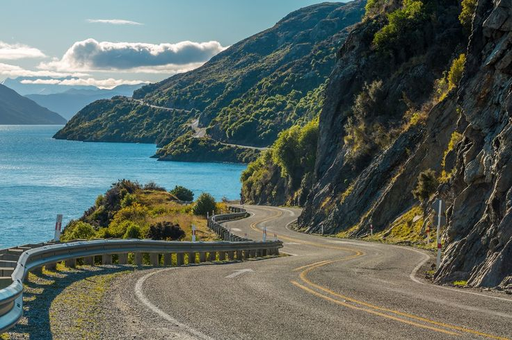 Devil's Staircase road from Kingston to Queenstown.   #NewZealandwalkingtours #WalkingNewZealand #NewZealandVacations