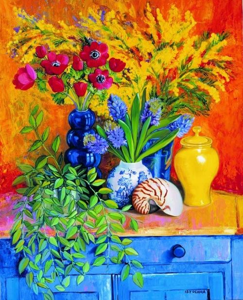 Autre peinture d'Isy Ochoa
