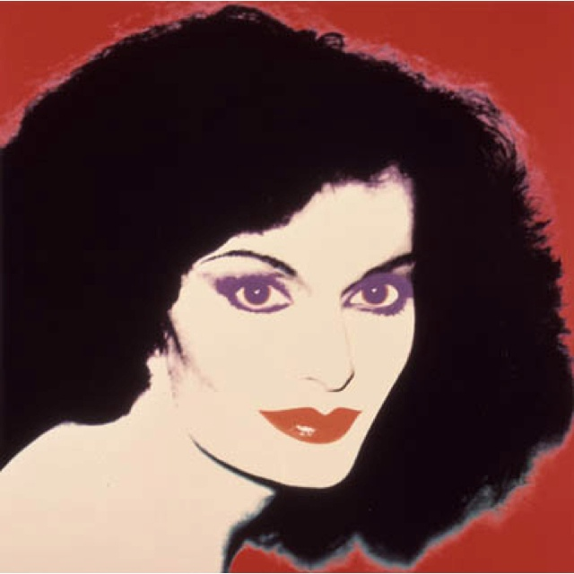 Diane Von Furstenberg Andy Warhol Collection