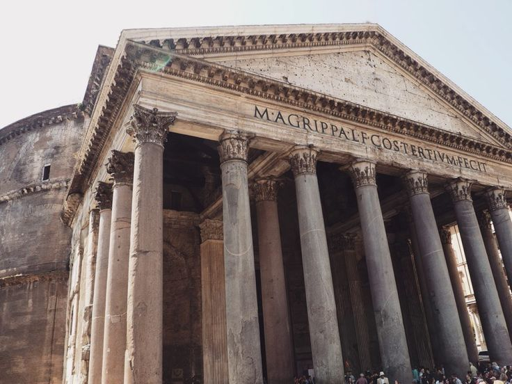 AIDA Mediterrane Highlights 1 - Mittelmeer Kreuzfahrt Rom, Pantheon