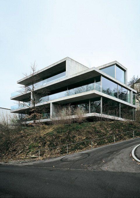 Apartment Building on Forsterstrasse by CHRISTIAN KEREZ Zurich, Switzerland 1999-2003
