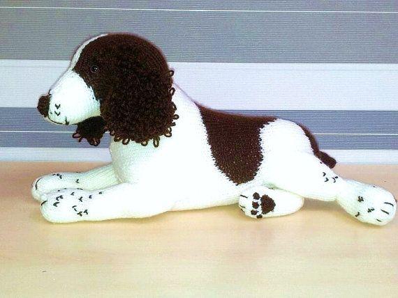 Springer Spaniel Art Doll Toy by DesignedByJayBee on Etsy