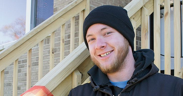 """""""I really love Habitat's mission, and I like that Habitat homeowners are out there doing the work, too. Habitat is all about a hand up, not a handout."""" - Kavanagh Hewitt, volunteer"""