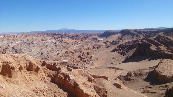 Desert by San  Pedro de Atacama (Chile)